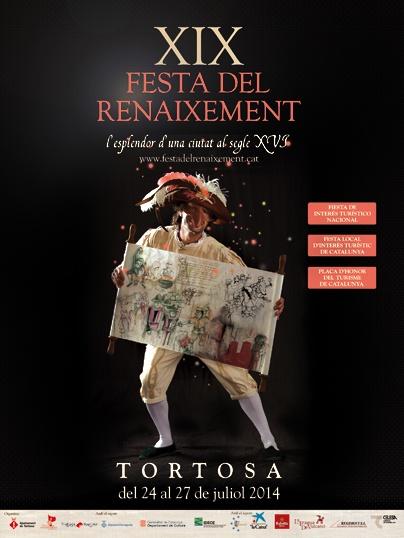 Cartell XIX Festa del Renaixement de Tortosa